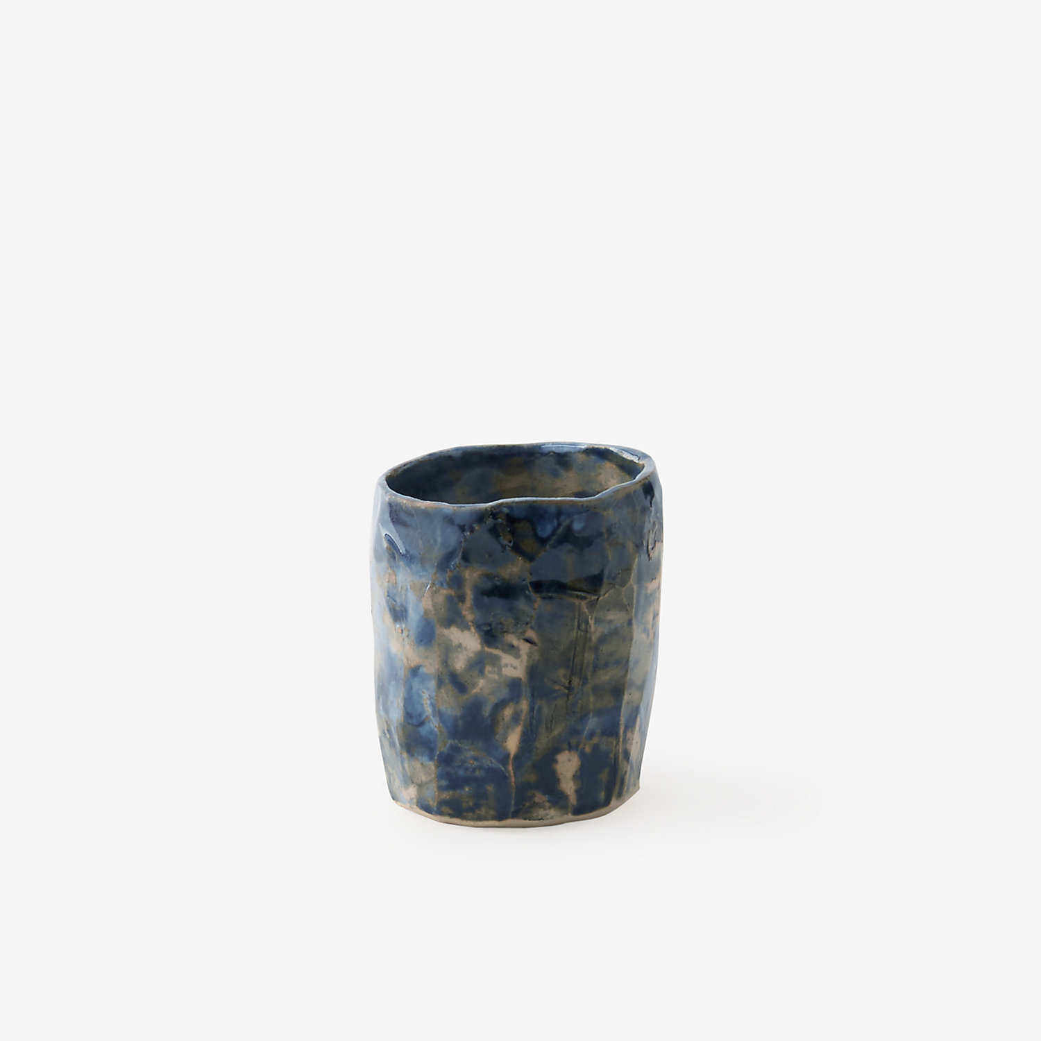 BLACK CHISELED CUP
