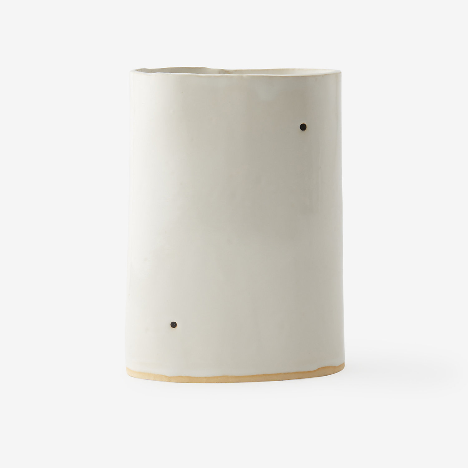 VASE WITH DOTS