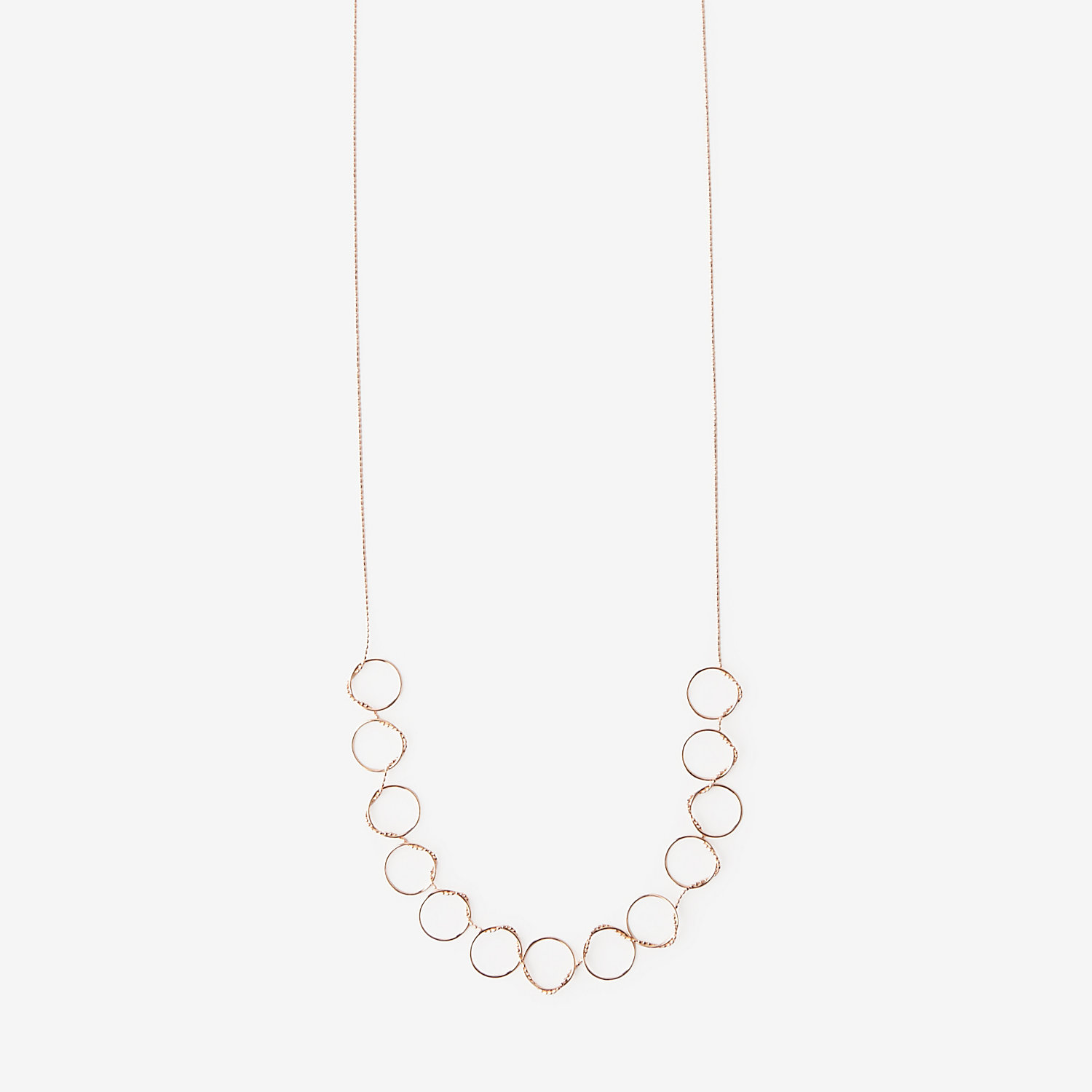 THIRTEEN CIRCLES NECKLACE