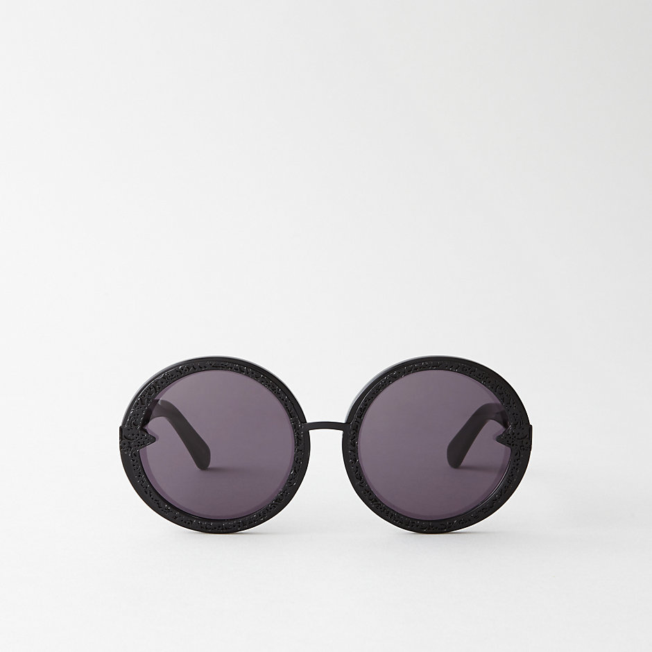 ORBIT FILIGREE SUNGLASSES - BLACK
