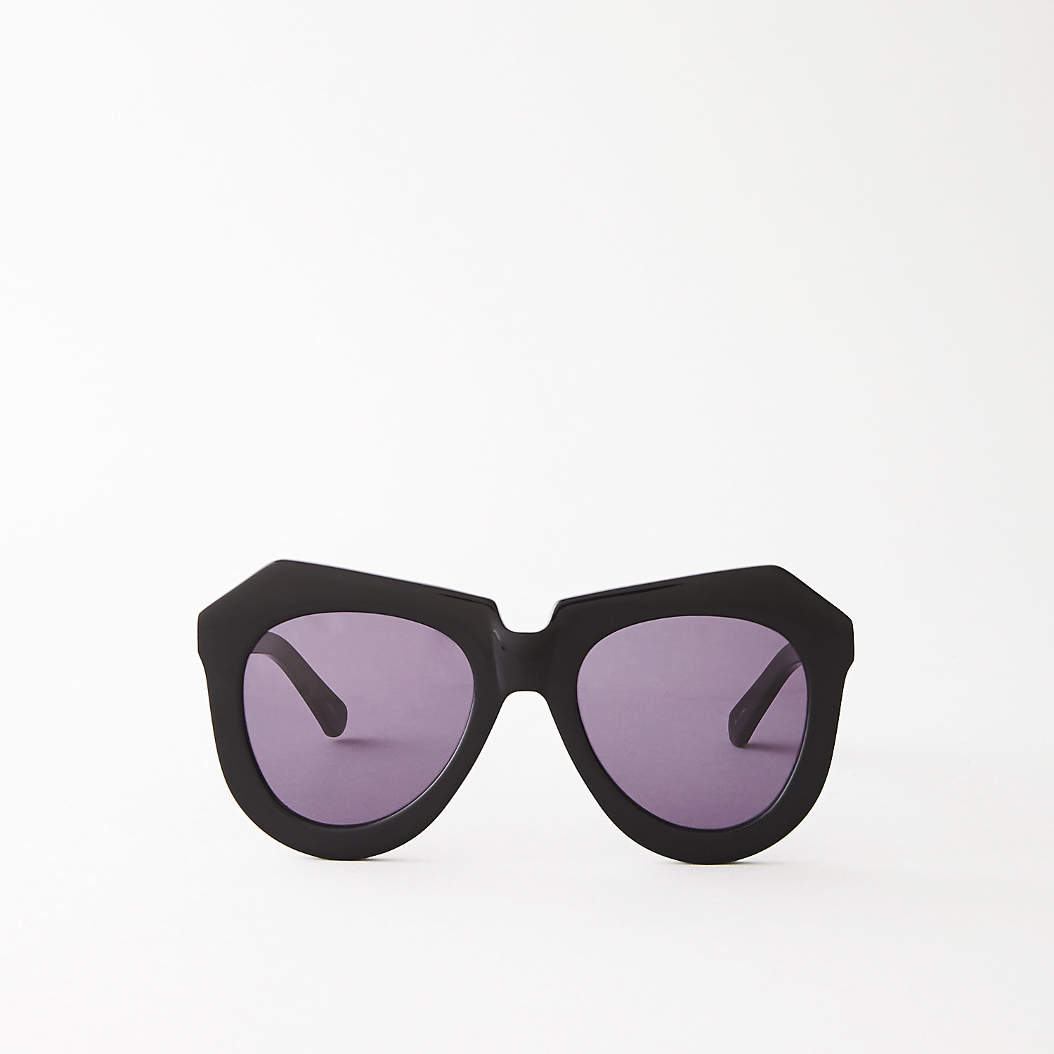 ONE WORSHIP SUNGLASSES - BLACK