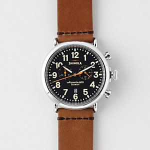 RUNWELL 47MM CHRONO WATCH