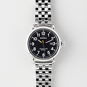 RUNWELL 41MM CHRONO STEEL WATCH