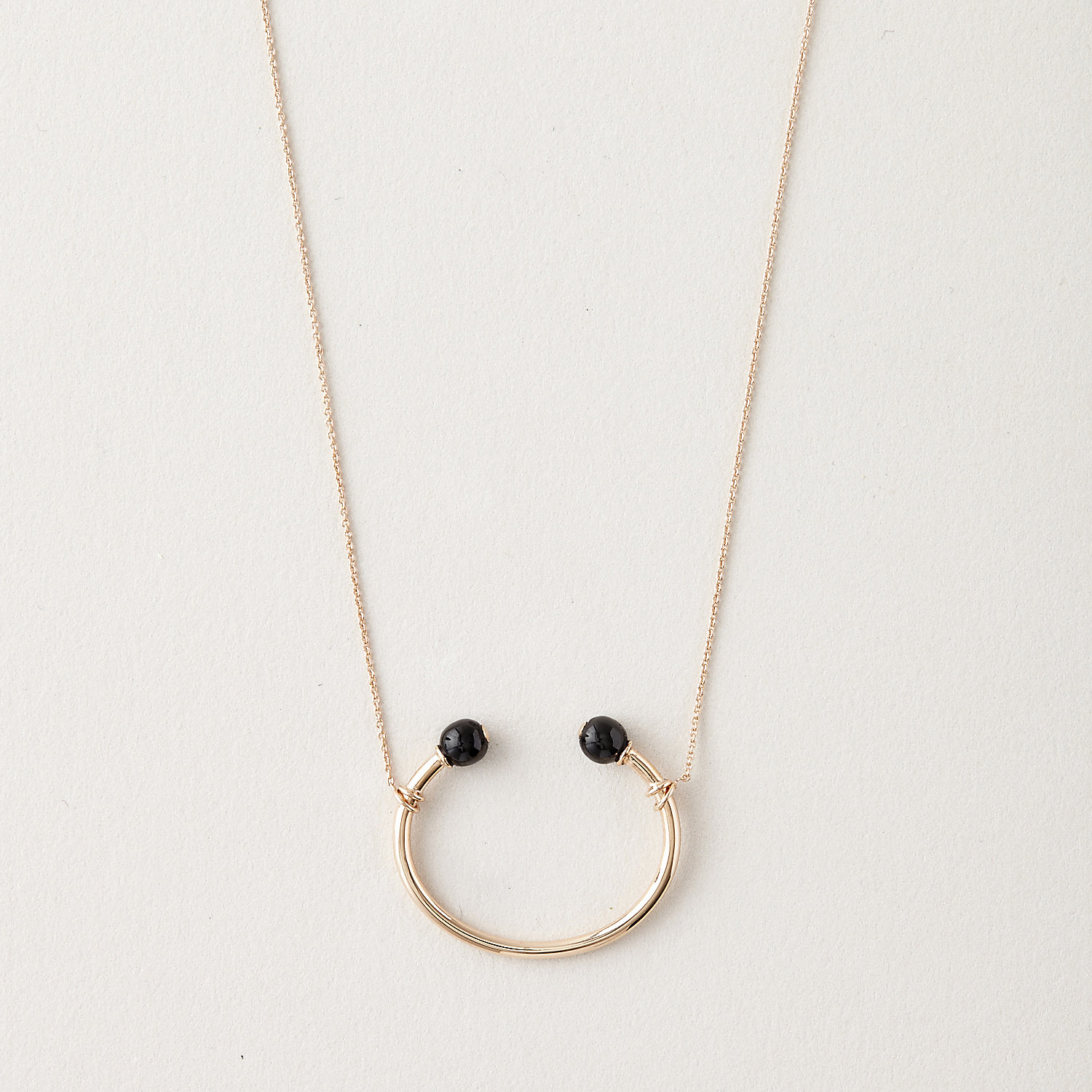 CERAMIC BUBBLES NECKLACE