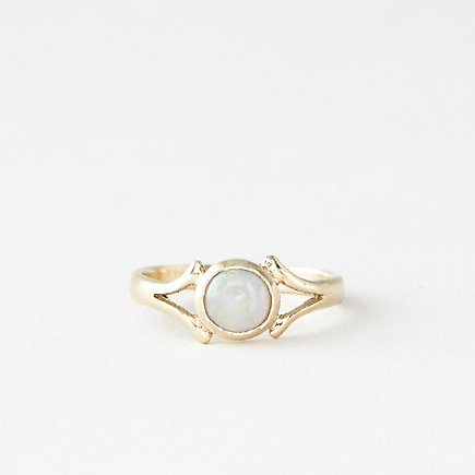 ISLAND IN THE MOON OPAL RING