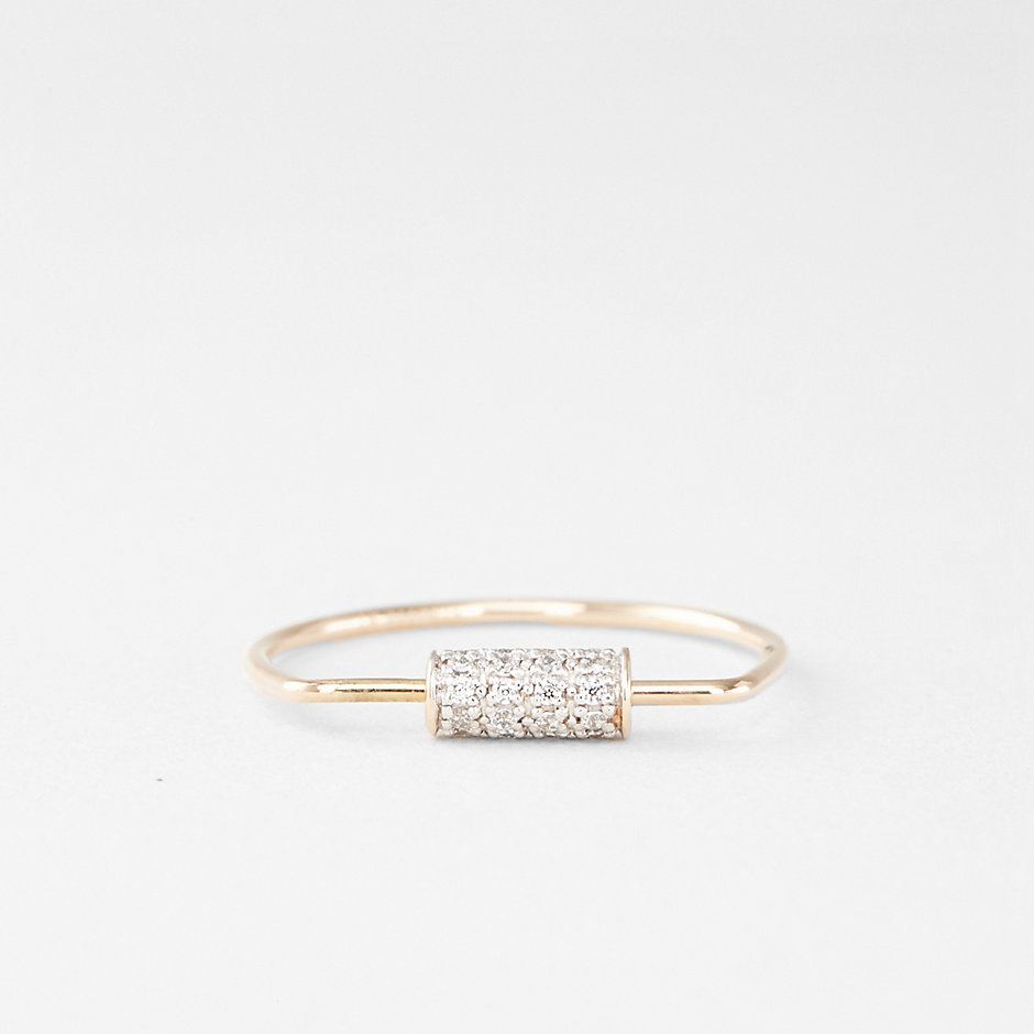 MINI STRAW DIAMOND RING