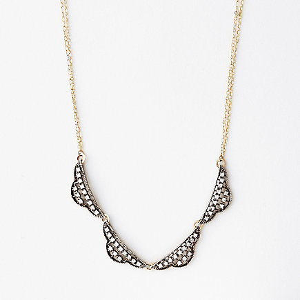 4 PIECE FILIGREE NECKLACE
