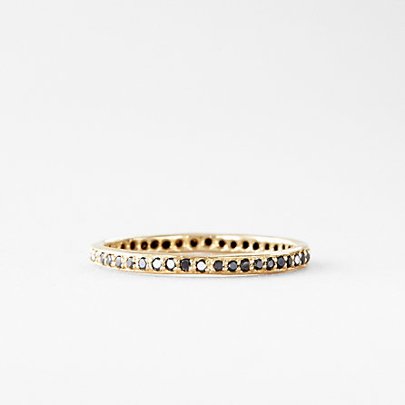 BLACK DIAMOND ETERNITY BAND