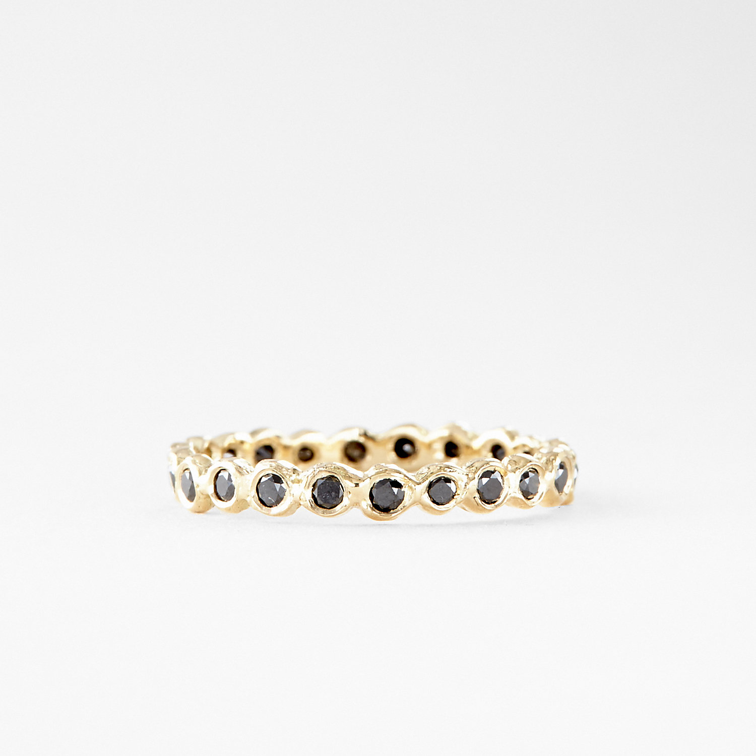 BLACK DIAMOND CIRCLE ETERNITY BAND