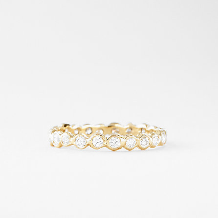 WHITE DIAMOND CIRCLE ETERNITY BAND