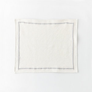 PALE GREY PLACEMATS SET
