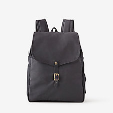 RUGGED TWILL TIN CLOTH BACKPACK