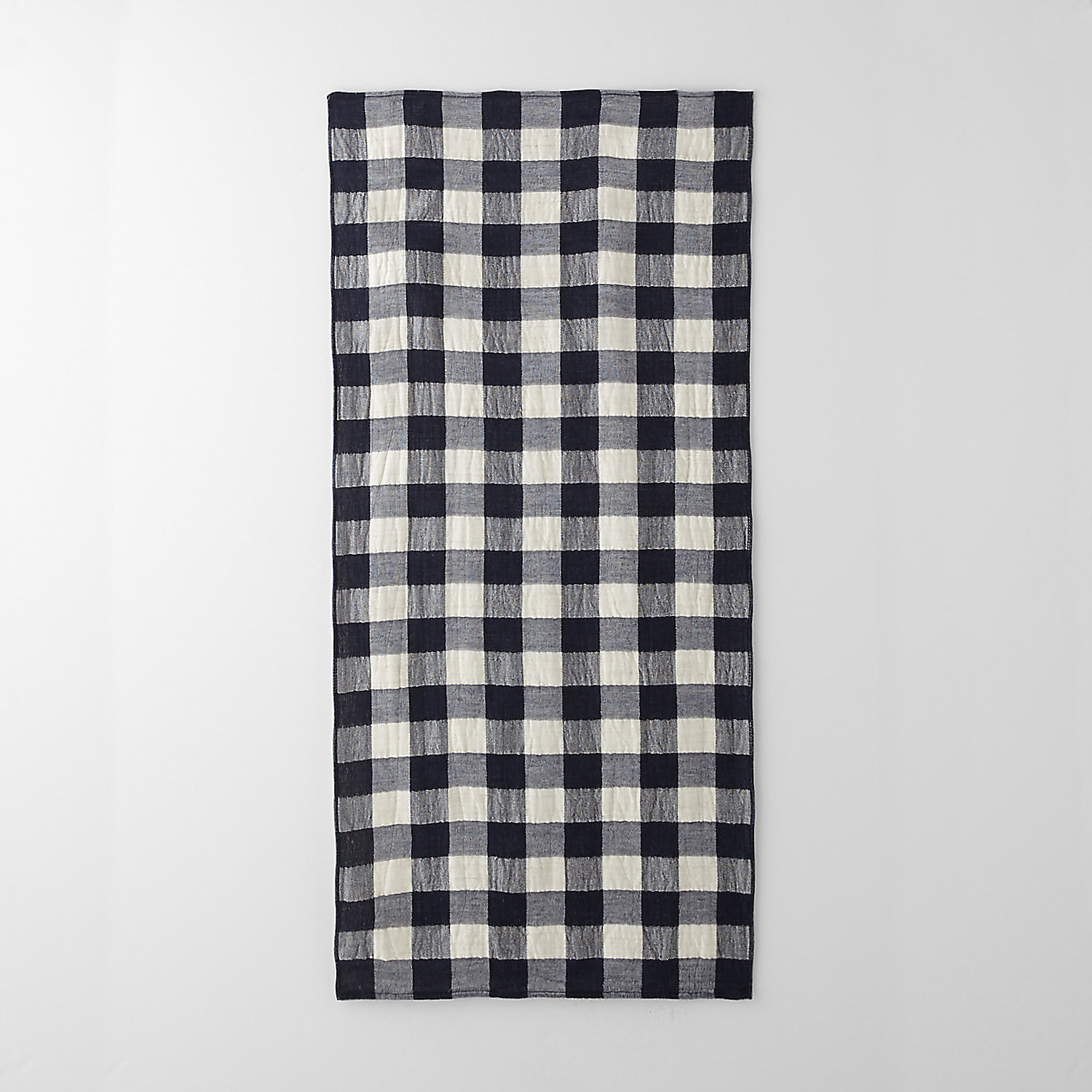 VINTAGE CHECK BATH TOWEL