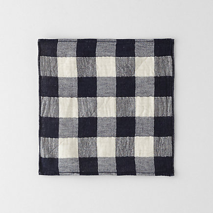 VINTAGE CHECK FACE TOWEL