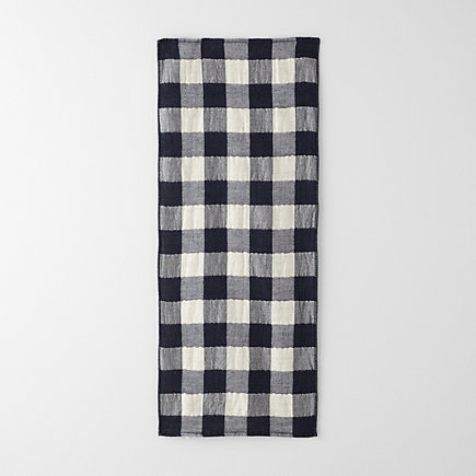 VINTAGE CHECK GUEST TOWEL