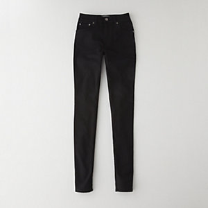 Needle Black Jean