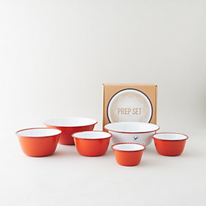 PREP BOWL AND COLANDER SET