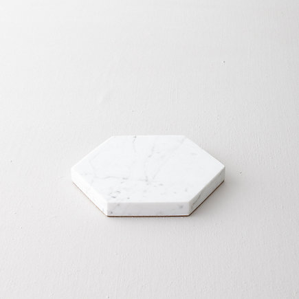 MARBLE HEXAGON TRIVET