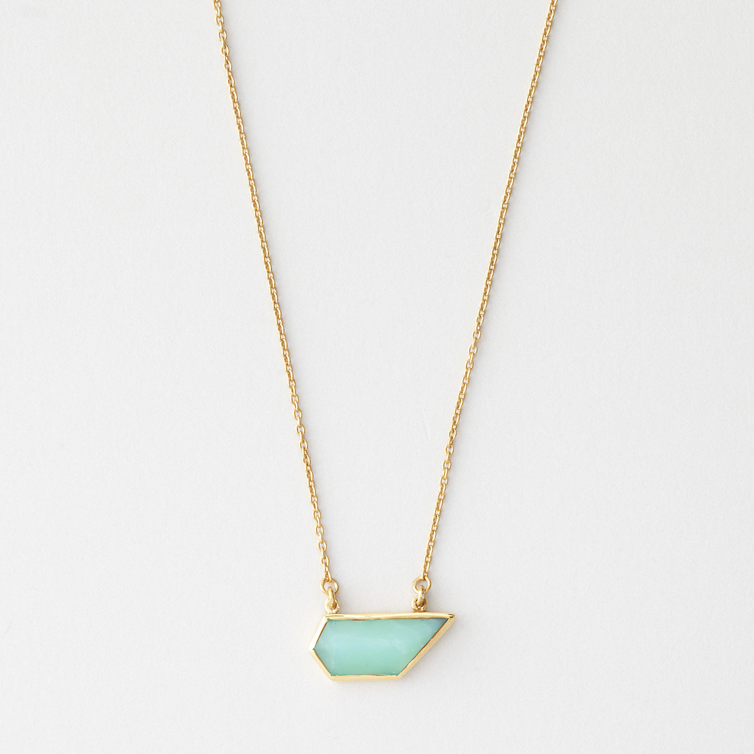 STELLA CHRYSOPHASE NECKLACE