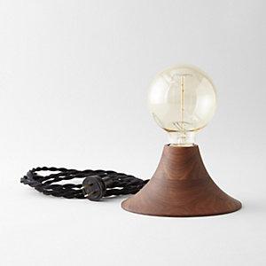 WALNUT OAK AURORA LAMP