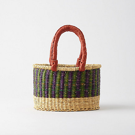 SMALL OVAL SHOPPER 2 HANDLES