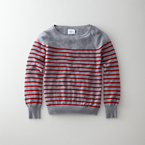 GATHERED SWEATER