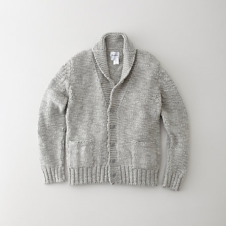 XAVIER SHAWL COLLAR CARDIGAN