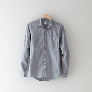 NARROW COLLAR COLLEGIATE SHIRT
