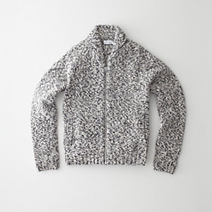 ZIP UP COWICHAN SWEATER