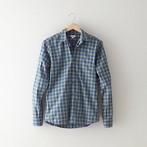 RELAXED FIT REVERSE SEAM SHIRT