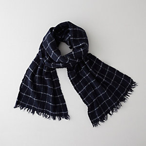 ALEX PLAID SCARF