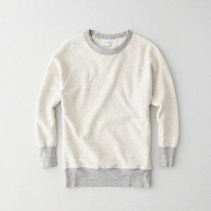 Raglan Crewneck Sweatshirt