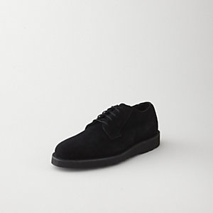 SUEDE WEDGE OXFORD