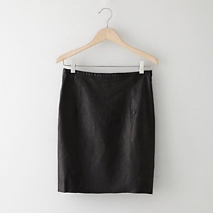 ANSEL LEATHER SKIRT