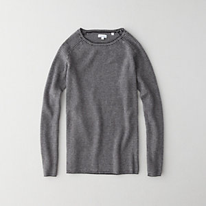 Cashmere Reverse Seam Sweater
