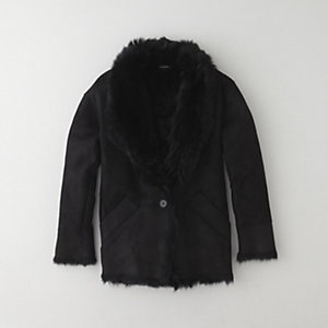 ANAIS SHEARLING COAT
