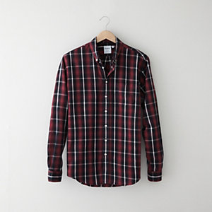 Leisure Large Check Shirt