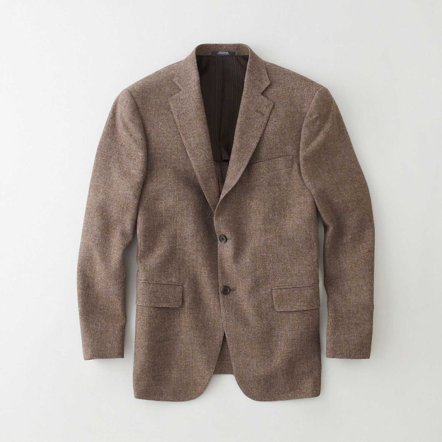 SOLID TWO BUTTON BLAZER
