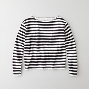 ADRIEN STRIPED PULLOVER