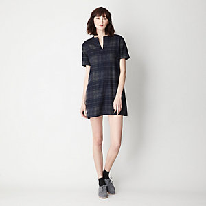 AVERY MINI PLAID DRESS