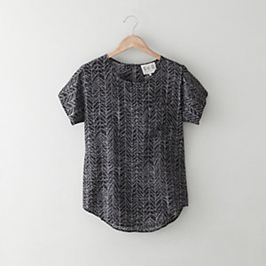 Silk Pocket Tee