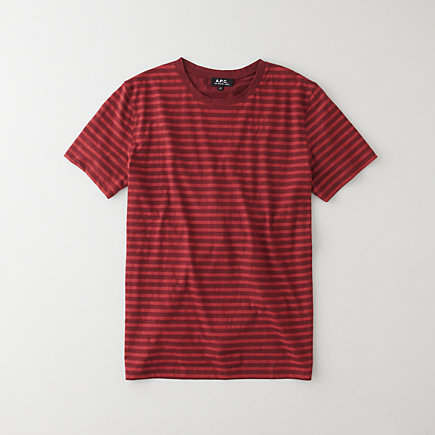 BORDEAUX STRIPED T-SHIRT