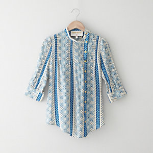 Echo Lake Pintucked Top
