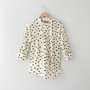 WOODSTOCK PINTUCK TOP