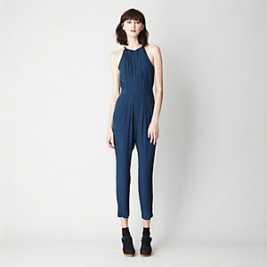 SIMPLE KEYHOLE JUMPSUIT