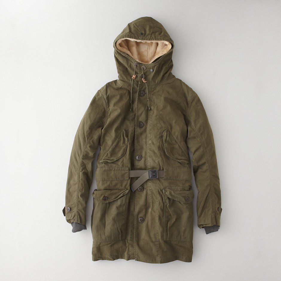 LINED TRENCH PARKA