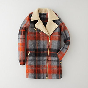MARTE PLAID COAT