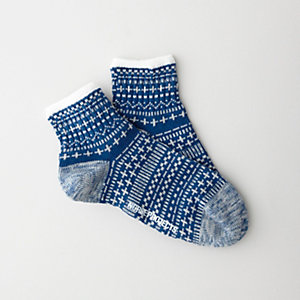 ELBERT VINTER JACQUARD SOCK