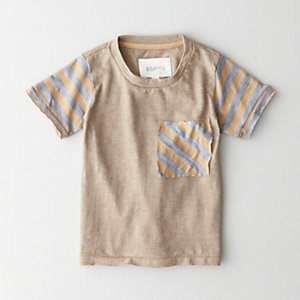 RIVER STRIPE POCKET TEE