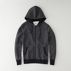 TIGER FLEECE FULL ZIP HOODIE